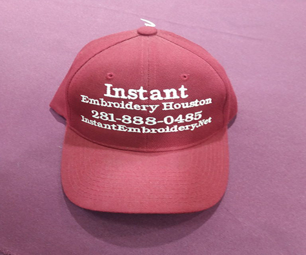 Custom Logo Embroidery shop in Houston Texas